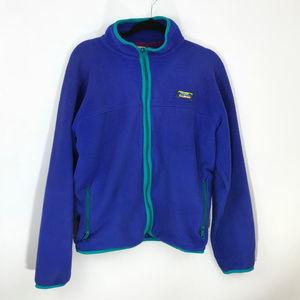 L.L. Bean Womens VTG Fleece Full Zip Jacket Medium